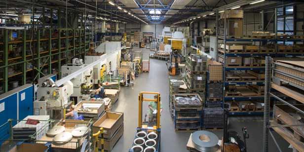 Produktion LTI Metalltechnik